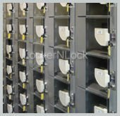 Coin Operated Locker, lockers