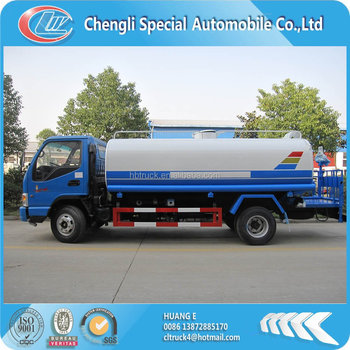 JAC small 4000 liters water tank truck for sale
