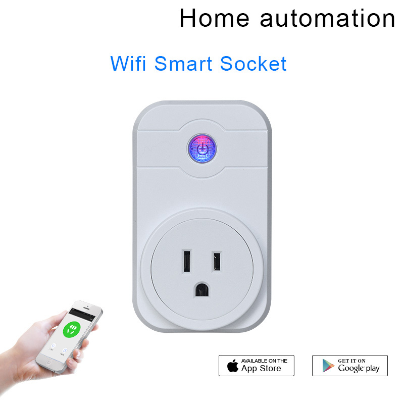 Hongda Smart Plug SWA1 Mini Wireless Smart Socket Outlet Works with Amazon Alexa Echo Dot Google Home App