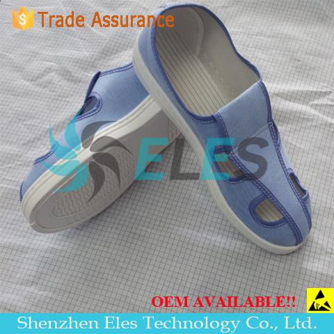 ESD shoes antistatic safety PVC shoes good quality