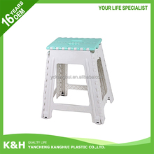 Plastic outdoor folding stool chair for japan