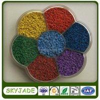 Eco-friendly EPDM rubber granules for children kindergarten playground