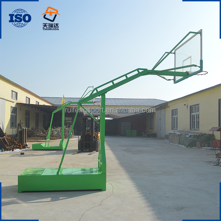 protable training outdoor basketball stand with SMC backboard