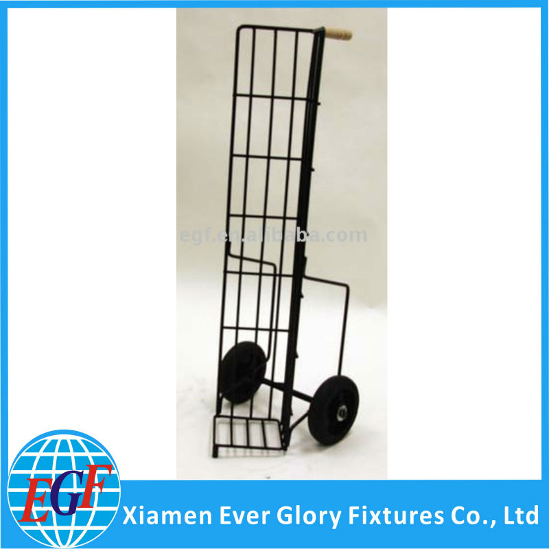 Floding Easy Grip Grocery Push Hand Cart