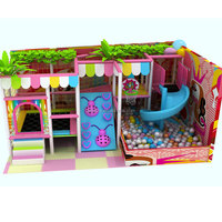 Theme Park Decorations For Commercial Indoor Amusement Naughty Castle