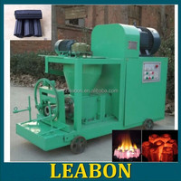 Easy burning cylinder charcoal briquettes machine for sale