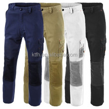 MENS BLACK GREY KHAKI CARGO COMBAT WORK TROUSERS KNEEPAD POCKETS WORK WEAR PANTS CHEAP