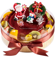 wholesale plastic christmas cake decoration