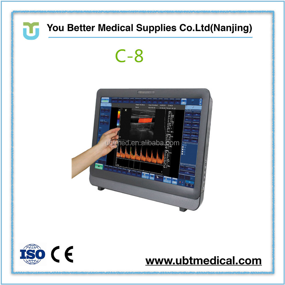Super quality promotional color doppler pc del ultrasound price