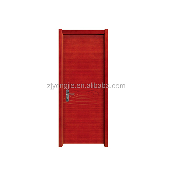 Zhejiang Yujie manufacture high quality white paint solid wood door