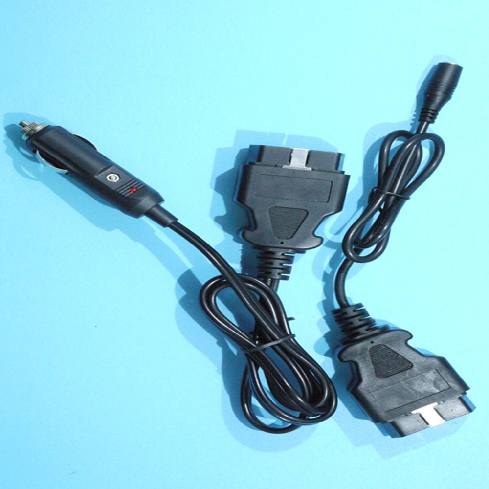 NEW Female DC5.5x2.5 and OBD 2 Connector with UL2464 22AWG Extension Power Cords Cable Assembly