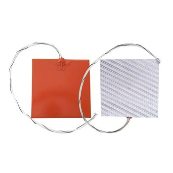 310x310mm 750W Silicone Blanket Heater Silicone Rubber Heater For Surface Heating with 916 Adhesive and 100k Thermistor