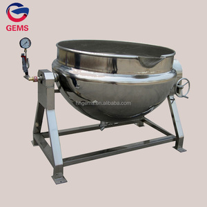 Steam cooking kettle mixer/Gas jacketed kettle/Planetary mixer frying pan
