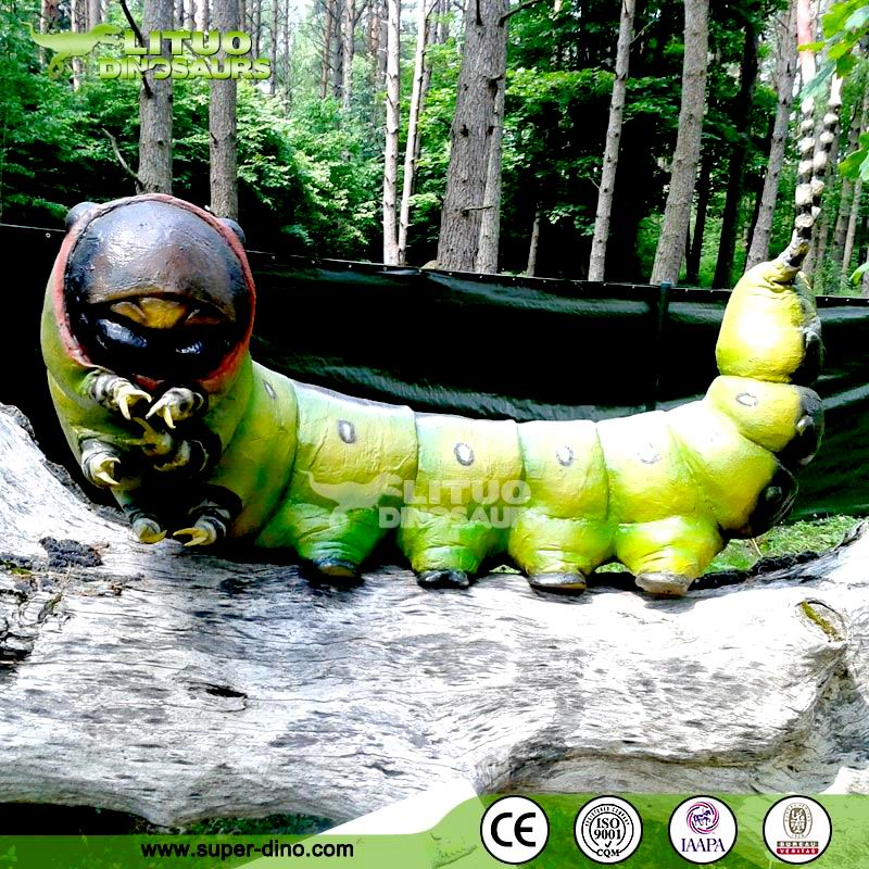 Robotic Big Artificial Insect Model for Garden Decoration