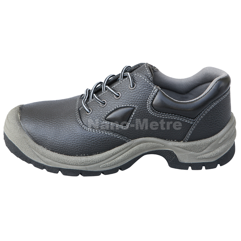 NMSAFETY black steel toe security work shoes and safety shoes