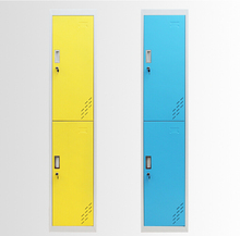 colorful customized 2 door steel storage locker