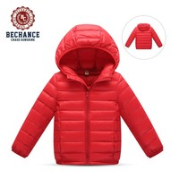 H1025 kid's warm jackets colorful puffy coat winter outwear for children