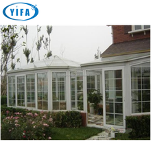 Avoid direct sunlight soundproof polycarbonate aluminum sunroom