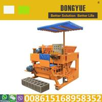 Concrete block machine south africa JMQ-6A brick making machine in zambia