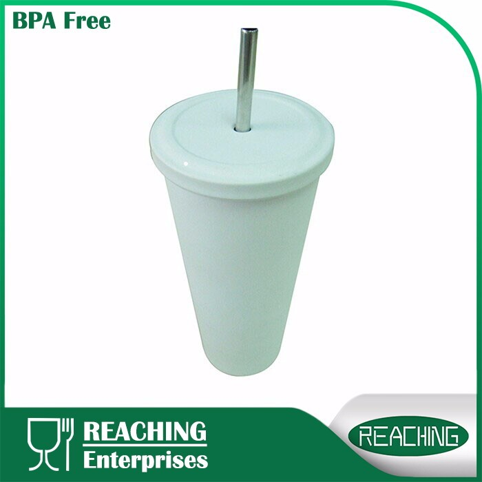 Insulated Vacuum Straw Water Coffee Tumbler Cup, Personalized Tumblers With Lid And Straw