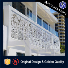 Best price exterior aluminum balustrade terrace railing design