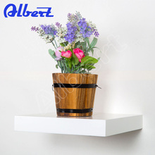 decoration models high gloss floating shelf