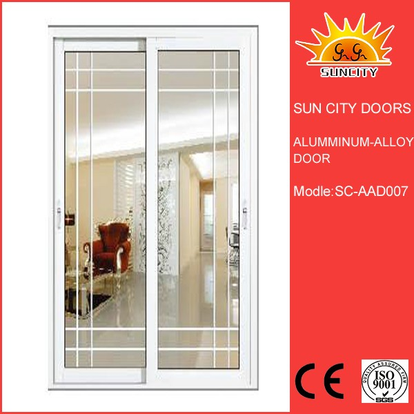 SC-AAD007 White Coloured Hot Selling Fashionable Aluminum Sliding Window Door Prices for Living Room