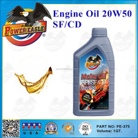 Power Eagle API SF/CD 20W50 Engine oil for diesel and petrol
