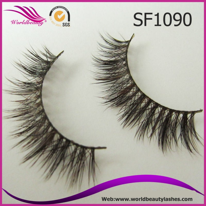 100% Mink Fur Natural False Eyelashes