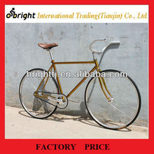 Single speed classic fixie bike