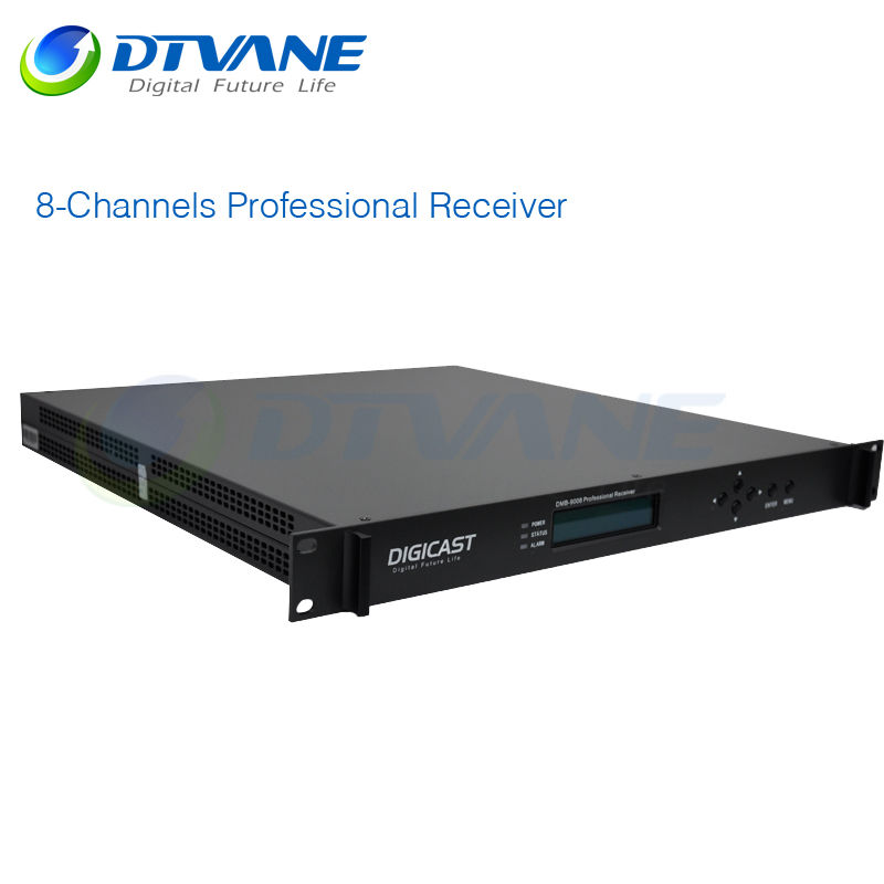 Multi Tuner 8-Channels Professional DVB-C Internet Digital TV Receiver With HD Combo DVB-S2 DVB-T