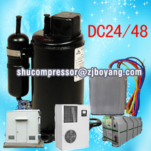 48vdc auto electric compressor for 48v dc 100% air conditioner for mine refuge