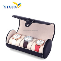Factory made pu leather Watch Box ,watch case ,watch packaging box