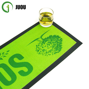 Custom Printing Rubber Bar Mat/ Nitrile Rubber Beer Bar Mat