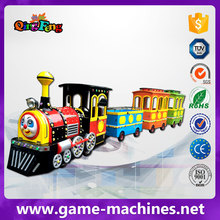 2017 newest Theme Park big Trackless train Tour carousel game machine sale