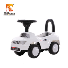 China cheap child swing toy car price on sale baby kids ride on slide car in Pakistan