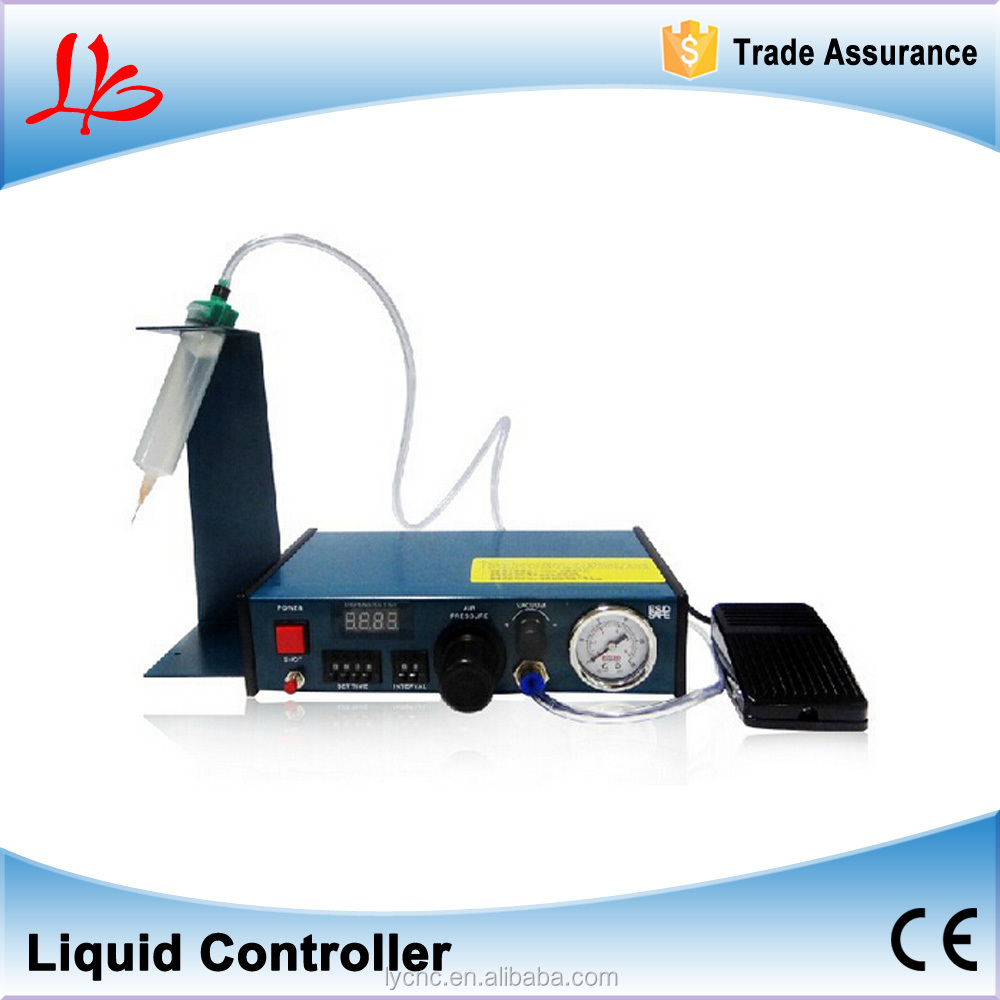 Digital timed air dispenser Liquid Controller plus the function of cycle dispensing and time display