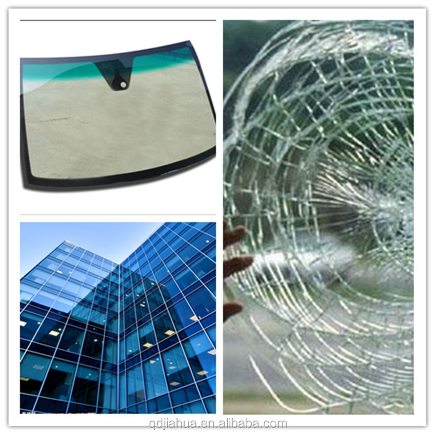 0.76mm color shade pvb film for windshield bulletproof laminated glass