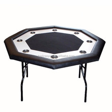 "48"" Octagon Poker Table with Folding Leg TPT-030"