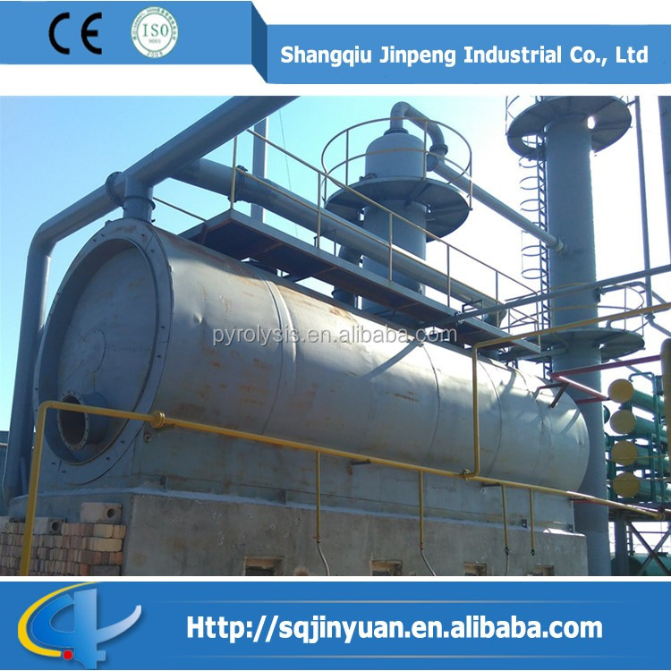 Waste Oil and Engine Oil Distillation Plant