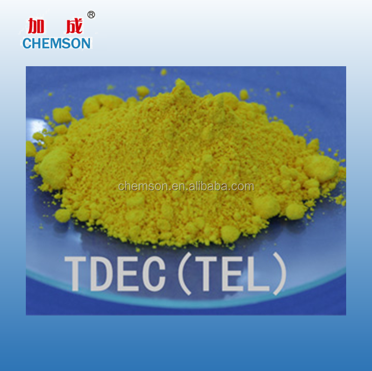 Food grade 20941-65-5 BR EPDM fast curing TEL rubber accelerator chemical additive TDEC tellurium