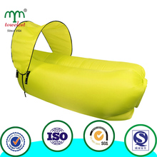 2016 New Fast Inflating air Lazy Sofa,Sleeping air lazy bean bag For outdoor Inflatable Lounger Chair