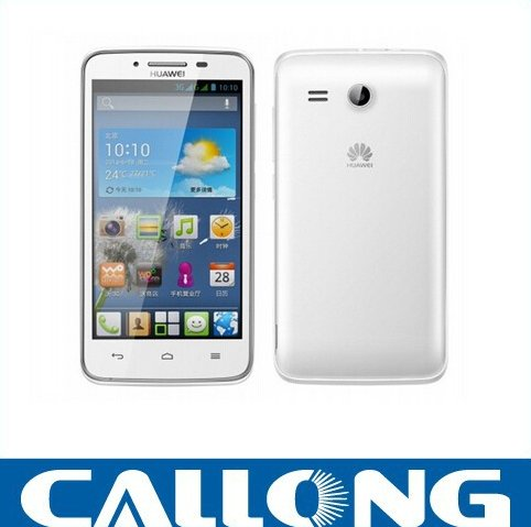 Original Huawei Y511 Android Mobile Phone 4.5 inch MTK6572 Dual Core 1.3GHz 512MB RAM 4GB ROM Dual Camera Bluetooth 3G WCDMA