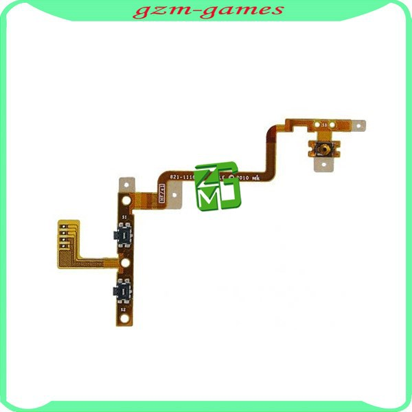 For iPod Touch 4 power volume flex cable, on off switch button flex for ipod touch 4
