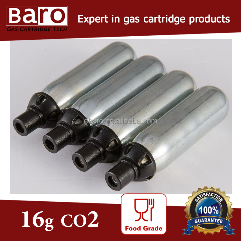16 gram argon canister cartridge for wine dispenser or preserver