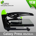 Galaxy Press T-shirt sublimation priting manual heat press machine