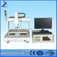 Three Axis Push-Button Key Pressing Load Stroke Curve Testing Equipment