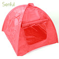 exquisite workmanship pet camping folding pet dog tent