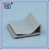 Plastic self adhesive wire mount