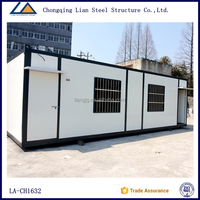 Portable prefabricated house container garage from china supplier